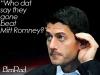 Mitt Romney who dat?