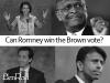 Will Mitt Romney get brown voters